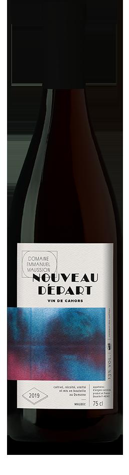 étiquette de vin de Cahors