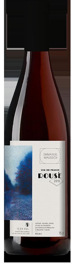 Bouteille de vin, design de l'étiquette