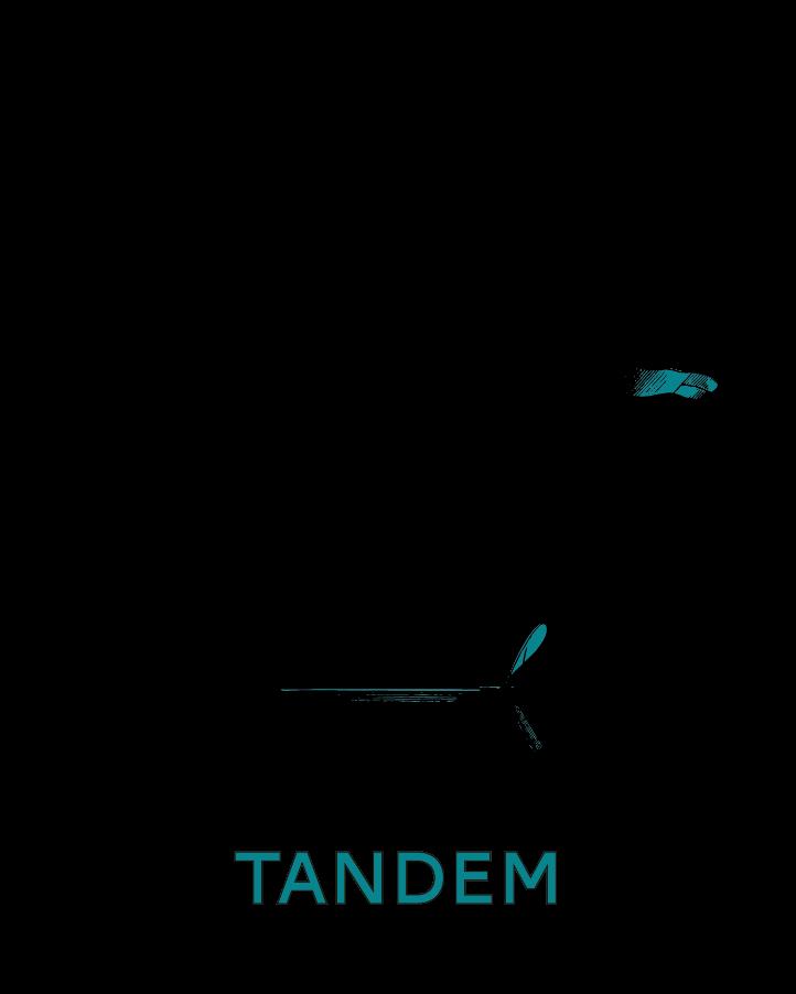 logotype alternatif pour le tandem, bar à Besançon