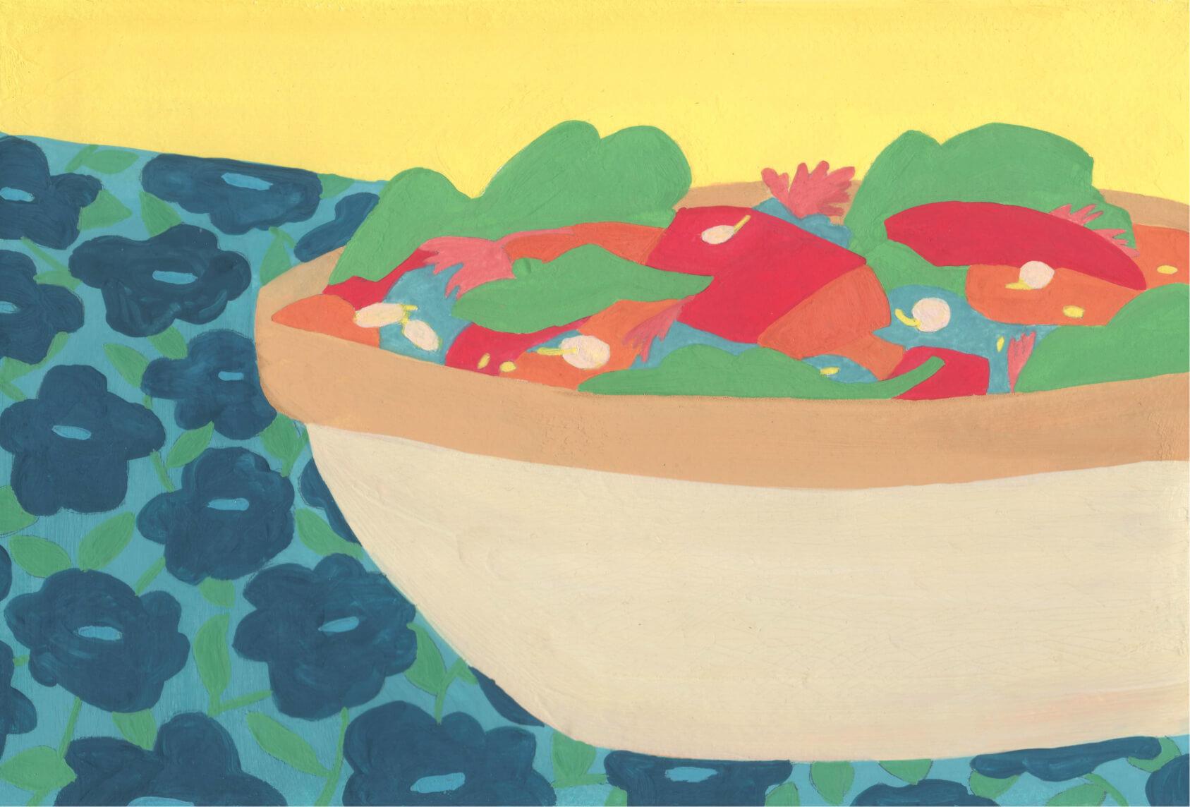 illustration pour le restaurant gloria mea fides de Besançon