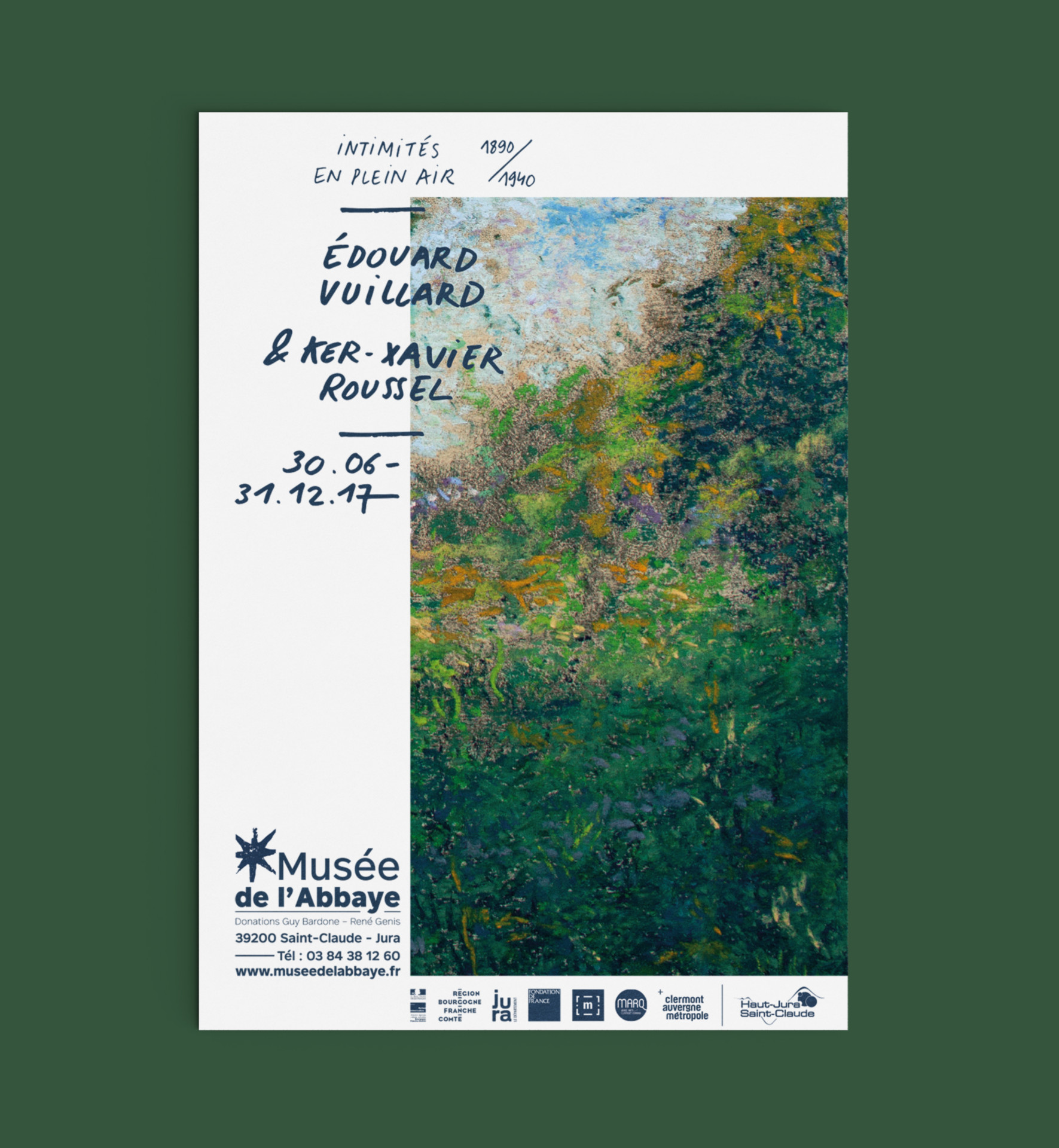 affiche de l'exposition du musée