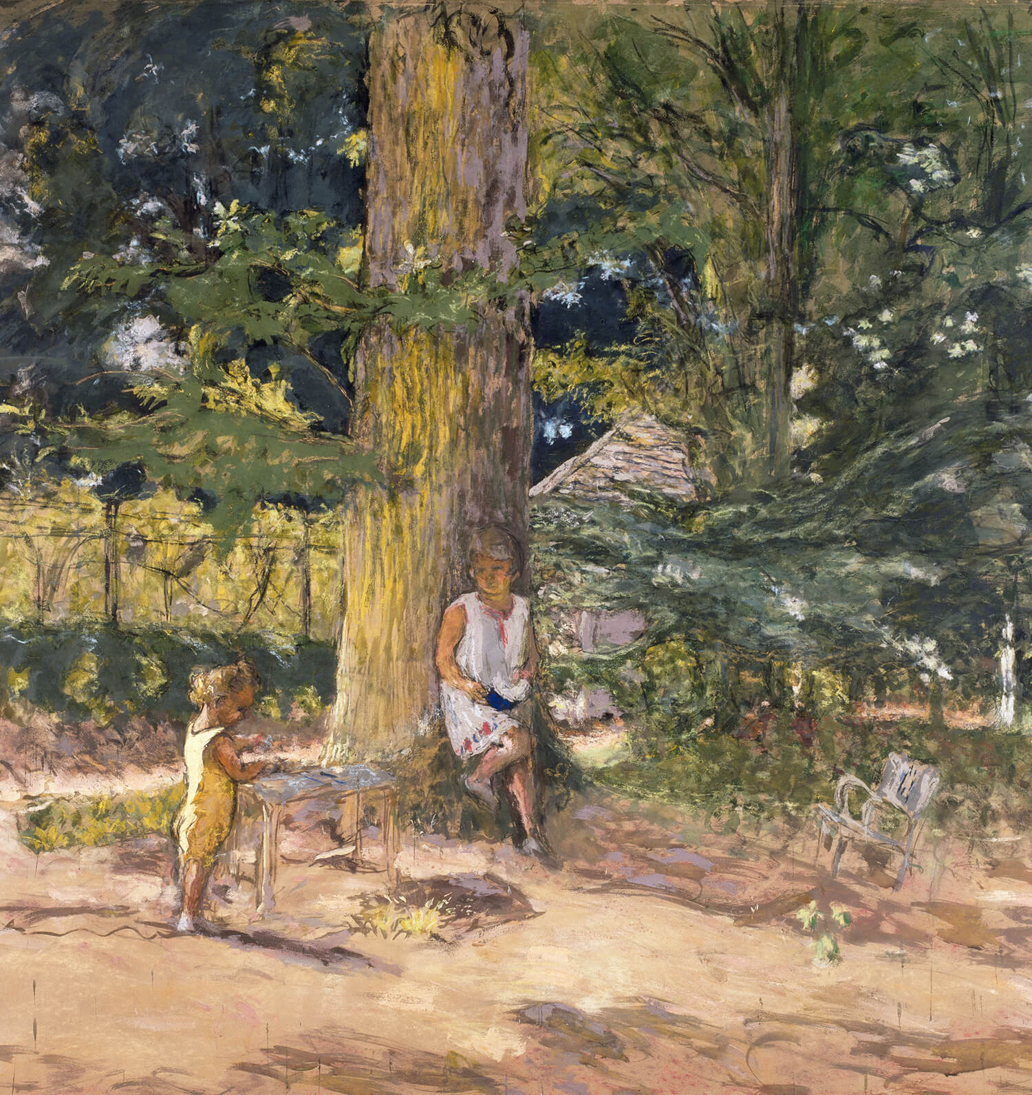 peinture de l'exposition du musée