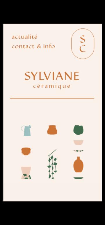 Site internet de Sylviane Céramique, céramiste à Besançon