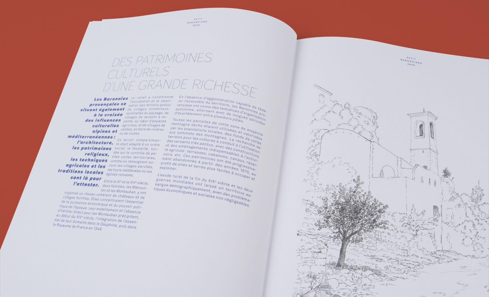 design éditorial de magazine
