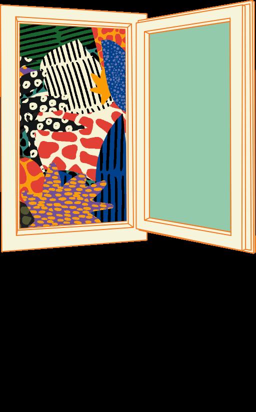 illustration graphique pour la communication visuelle du festival